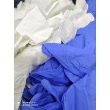 színes nitril védőkesztyű fehér és kék 200 db