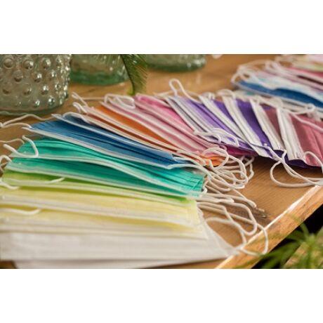 több színű orvosi szájmaszk 10 db