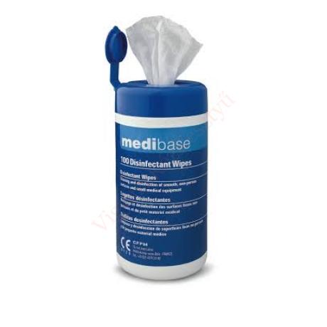 Fertőtlenítő kendő Medibase adagoló dobozban - 100 db