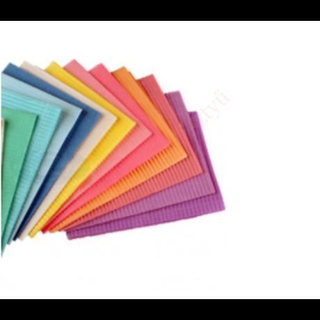 papír nylon szalvéta több színben