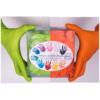 Új Színre színt nitril védőkesztyűk - 2x50 db
