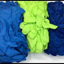 100 db M méretű színes nitril védőkesztyű