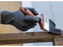 Fekete nitril kesztyű - Vigyázz Kéz Kesztyű