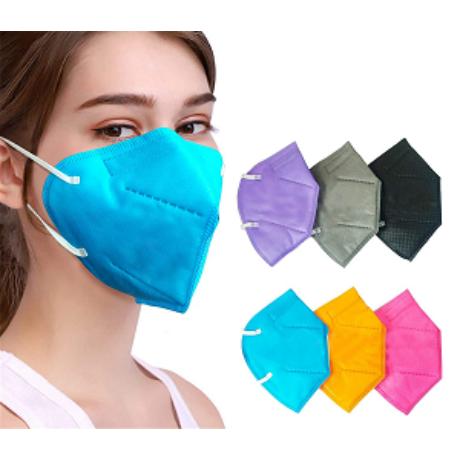 YUNYIFU szájmaszk-FFP2 védelem 1db  Több színben
