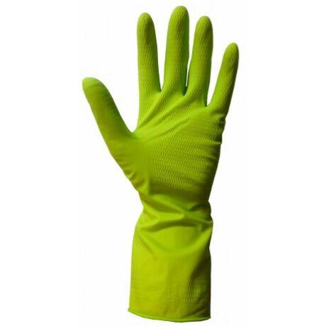 Essenti Care háztartási gumikesztyű fresh green 1pár