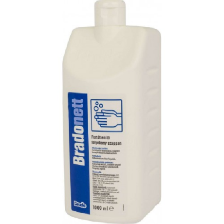 bradonett kézfertőtlenítő szappan utántöltő 1000 ml