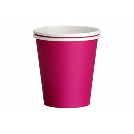 magenta papír pohár 2 dl