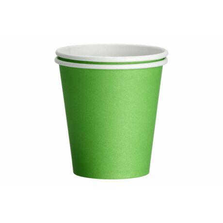 avokado zöld papír pohár