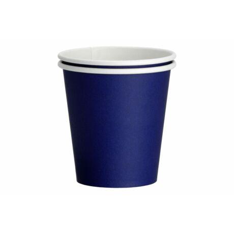 sötétkék papír pohár 2 dl