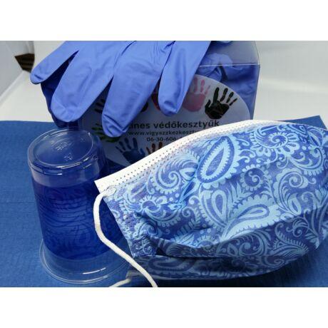 Kék csomag -  ajándék 50 db mintás pohárral