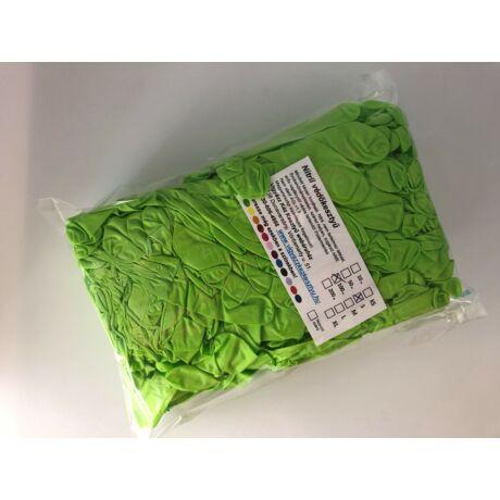 100 db-os zöld nitril védőkesztyű tasakos kiszerelésben