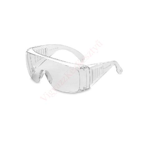 Védőszemüveg átlátszó